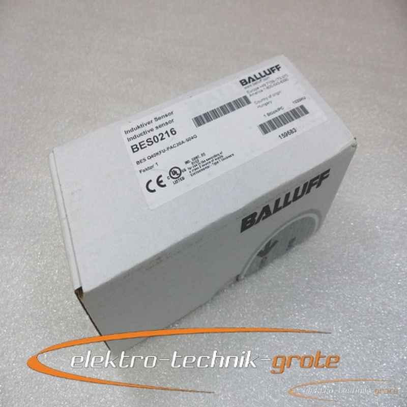 Balluff Balluff BES0216 BES Q40KFU-PAC20A-S04G Induktiver Sensor -ungebraucht- in versiegelter Originalverpackung фото на Industry-Pilot