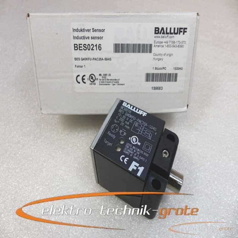 Balluff Balluff BES0216 BES Q40KFU-PAC20A-S04G Induktiver Sensor -ungebraucht- фото на Industry-Pilot