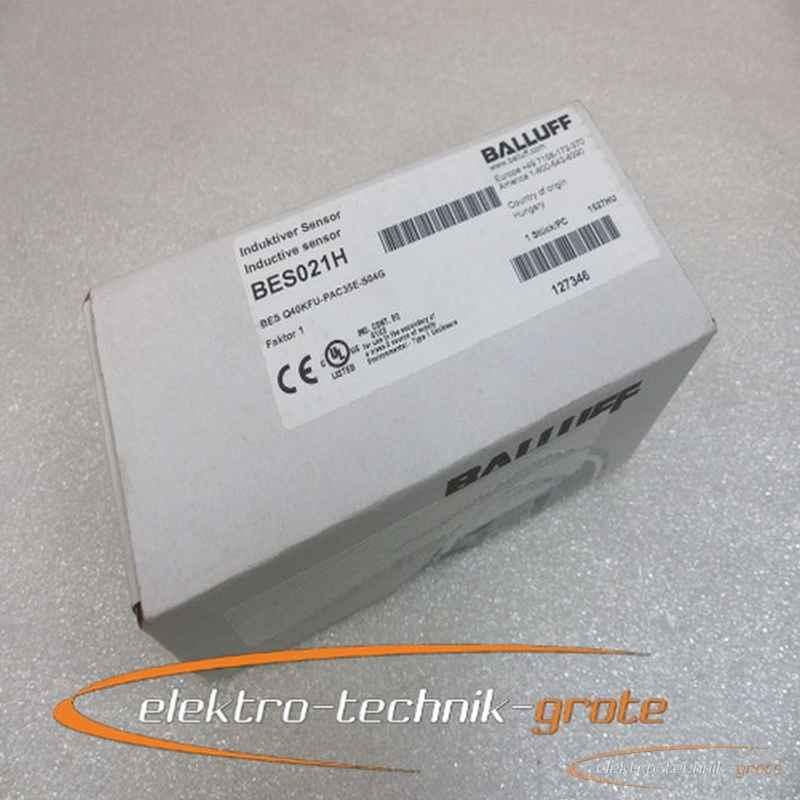Balluff Balluff BES021H BES Q40KFU-PAC35E-S04G Induktiver Sensor -ungebraucht- фото на Industry-Pilot