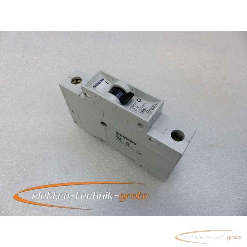 Автоматический выключатель Siemens  5SX21 C2  фото на Industry-Pilot
