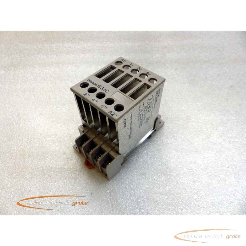 Omron Omron G3JC-205BL Solid State Relay фото на Industry-Pilot