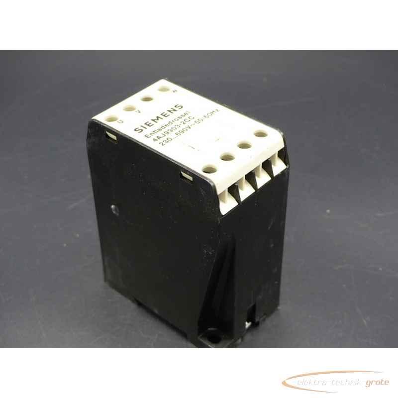 Siemens Siemens 4AJ9903-2CC Entladedrossel 230690V~50-60Hz фото на Industry-Pilot