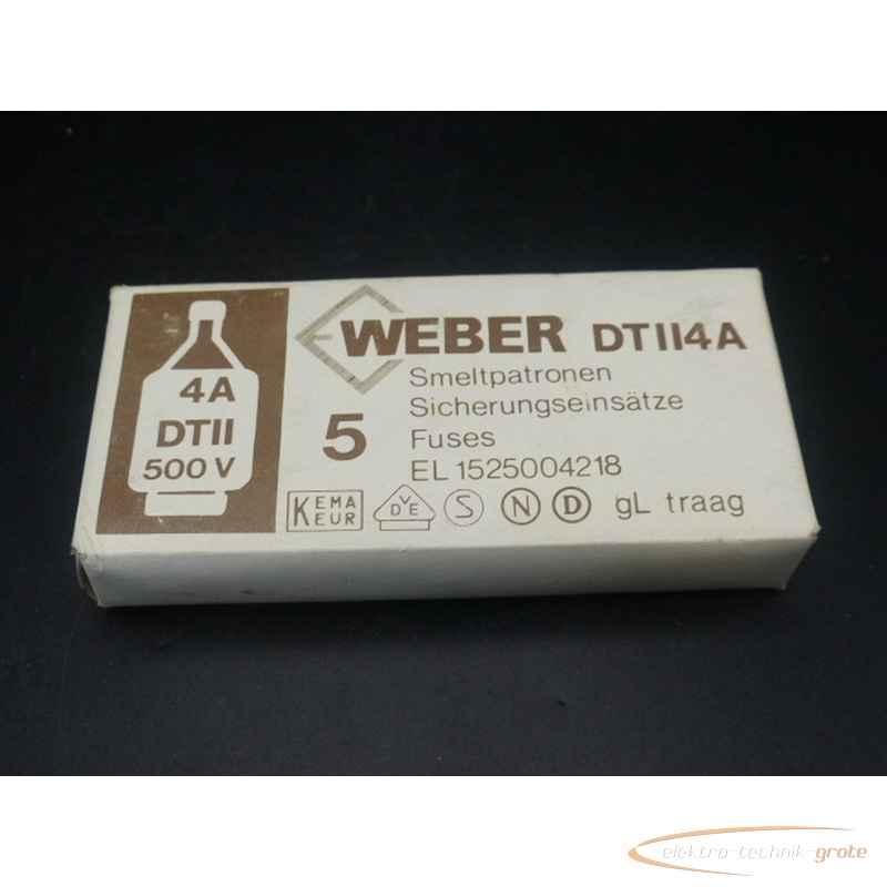 Weber DTII4A EL1525004218 Smeltpatronen 5 Stück ungebraucht!  фото на Industry-Pilot