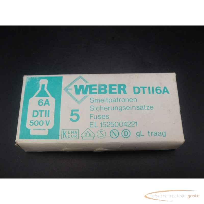 Weber DTII6A EL 1525004221 Smeltpatronen 5 Stück ungebraucht!  фото на Industry-Pilot