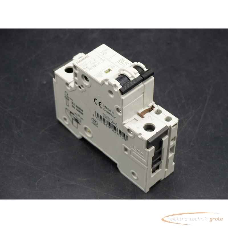 Силовой выключатель Siemens  5SY5106-65ST3013 Hilfsstromschalter фото на Industry-Pilot