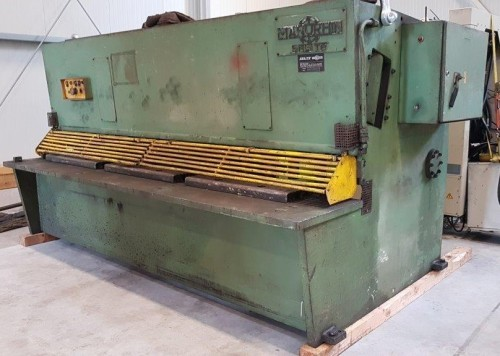 Hydraulic guillotine shear  SAGITA 3116 photo on Industry-Pilot