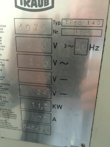 Токарно-револьверный автомат TRAUB TF 60/140   фото на Industry-Pilot