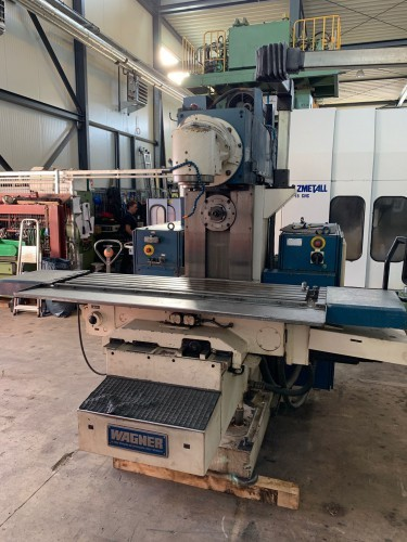Milling Machine - Universal HECKERT FW 400 / EH 1600 CNC photo on Industry-Pilot