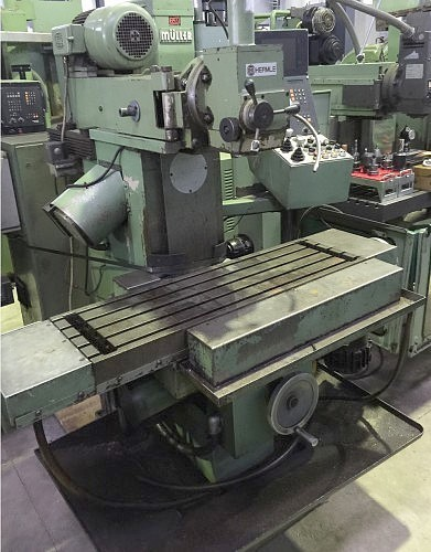 Milling Machine - Universal HERMLE PF 1000 photo on Industry-Pilot