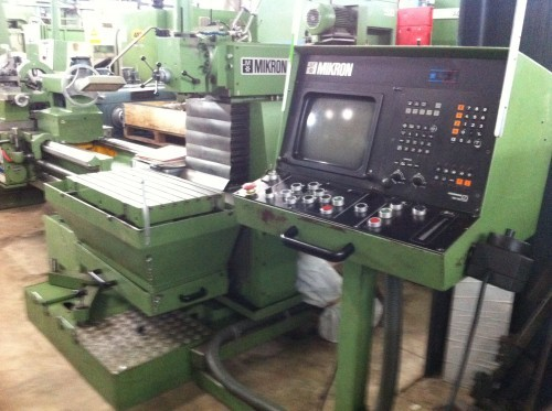 Milling Machine - Universal MIKRON WF 21 C 106139 photo on Industry-Pilot