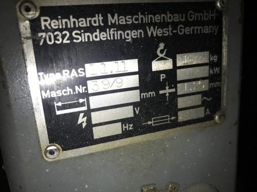 Роликовая листогибочная машина RAS 11.11 1984 фото на Industry-Pilot