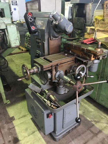 Milling machine conventional HERMLE FWH 630 photo on Industry-Pilot