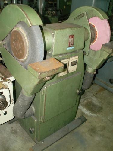 Двухдисковый шлифовальный станок - вертик. REMA DS 30/400 A  фото на Industry-Pilot