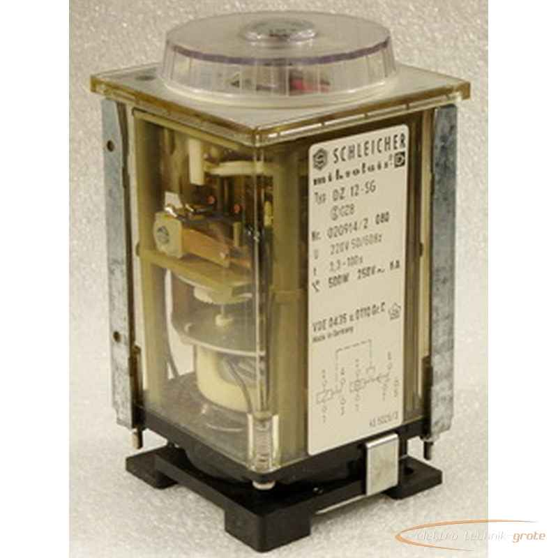Замедляющее реле Schleicher  Mikrolais-D DZ12-SG 3,3 - 100 sec.  фото на Industry-Pilot