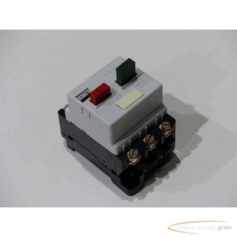 Защитный автомат электродвигателя Siemens  3VE1010-2J2,5-4A фото на Industry-Pilot