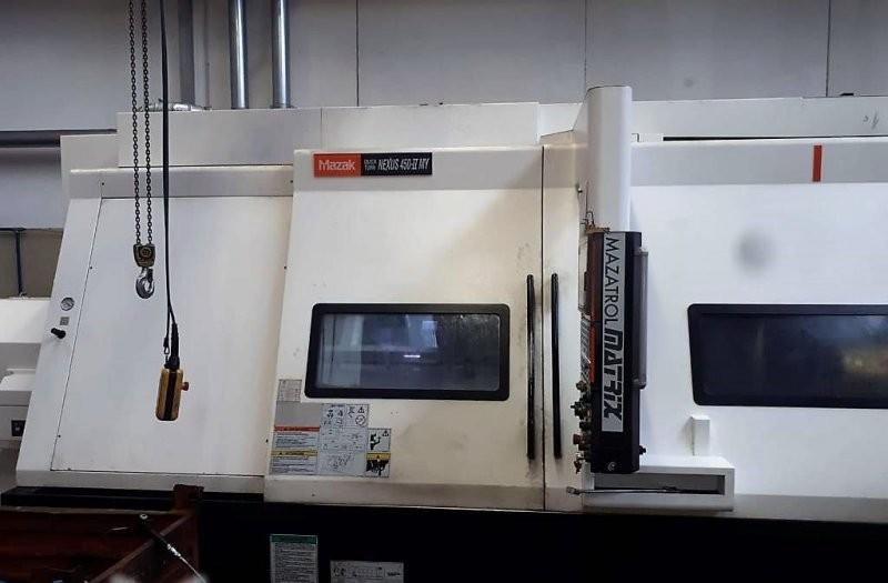 CNC Turning Machine MAZAK QUICK TURN NEXUS 450-II MY photo on Industry-Pilot