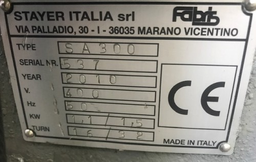 Circular saw/automatic FABRIS SA 300 photo on Industry-Pilot
