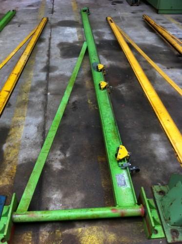 Поворотный кран на колонне STAHL PW 125 kg фото на Industry-Pilot