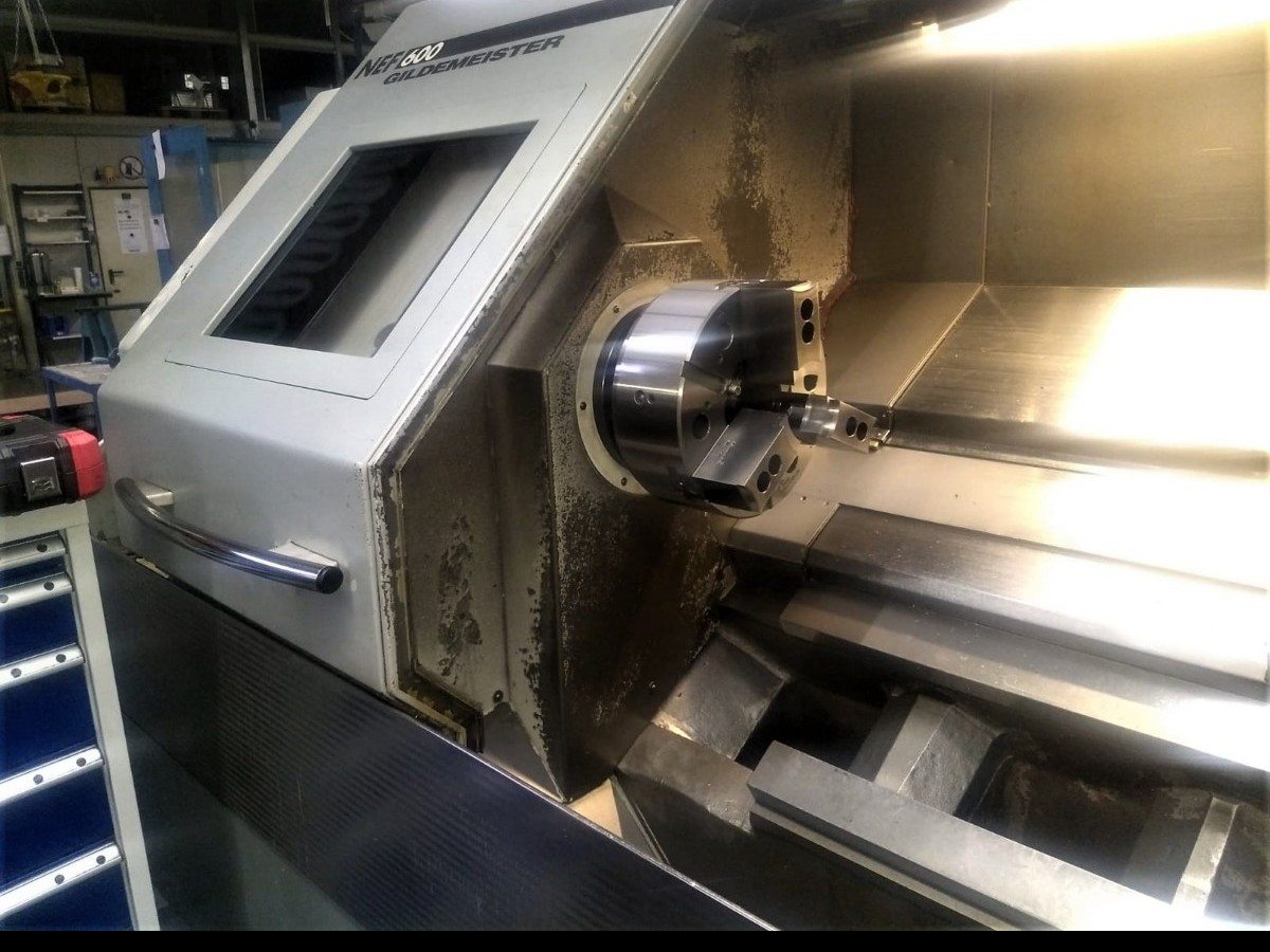 CNC Turning Machine GILDEMEISTER NEF 600 photo on Industry-Pilot