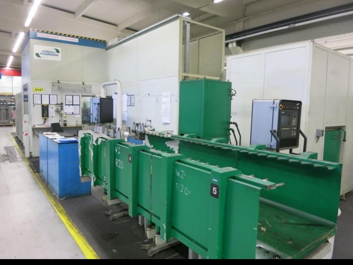 Горизонтально-расточной станок SCHARMANN Ecocut Z/TDV 3 880 M Heidenhain фото на Industry-Pilot