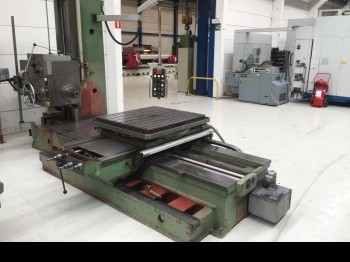 Horizontal Boring Machine TOS W9A photo on Industry-Pilot
