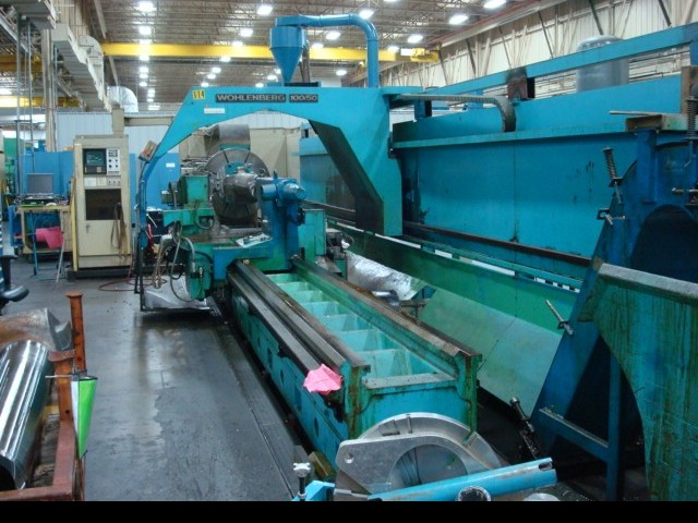 CNC Turning Machine WOHLENBERG VDF U1270 S photo on Industry-Pilot