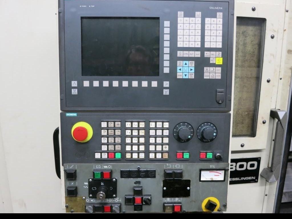 CNC Turning Machine - Inclined Bed Type INDEX GU 800 840 D фото на Industry-Pilot