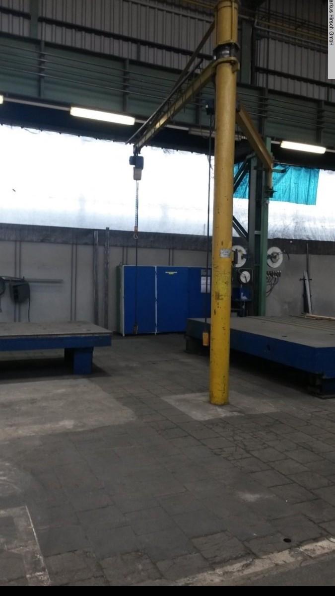 Поворотный кран на колонне DEMAG 1 t  Säulenschwenkkran фото на Industry-Pilot