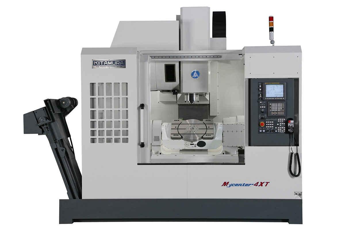 Bearbeitungszentrum - Universal KITAMURA 4XT 5–Achsen Bilder auf Industry-Pilot