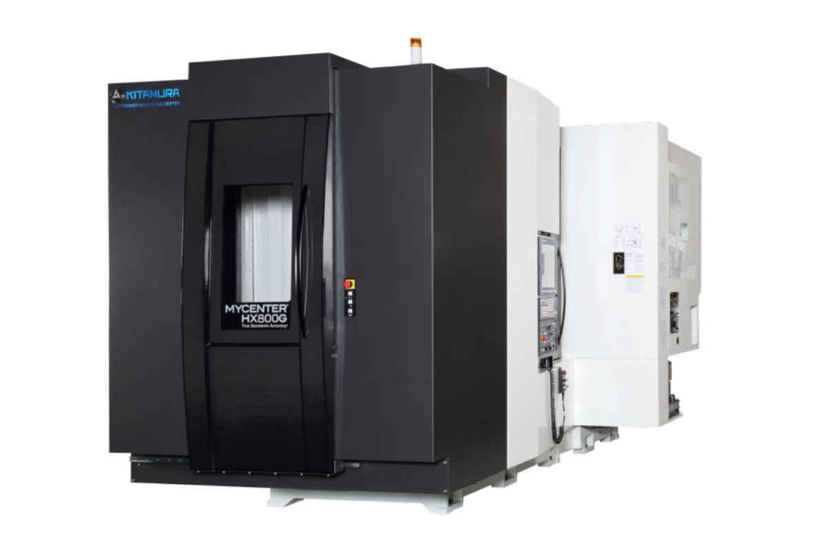 Bearbeitungszentrum - Horizontal Kitamura Mycenter HX 800 G Bilder auf Industry-Pilot