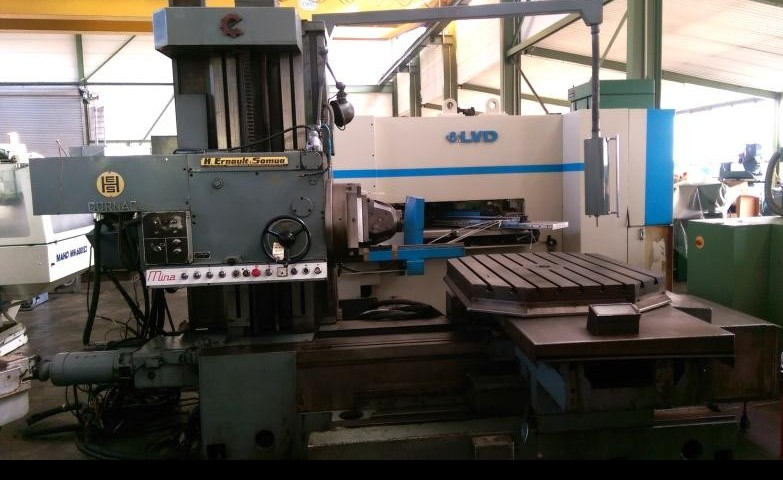 Horizontal Boring Machine ERNAULT-SOMUA MINA 12 S TC 96 photo on Industry-Pilot