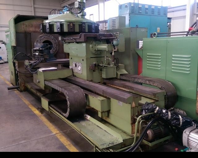Hollow Spindle Lathe MAX MUELLER AMW-63 Heidenhain фото на Industry-Pilot