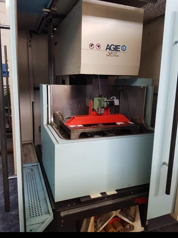 Wire-cutting machine AGIE AGIECUT EVOLUTION 2 фото на Industry-Pilot