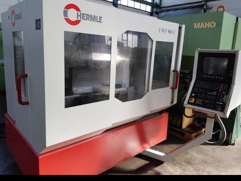 Toolroom Milling Machine - Universal HERMLE UWF 900 E фото на Industry-Pilot