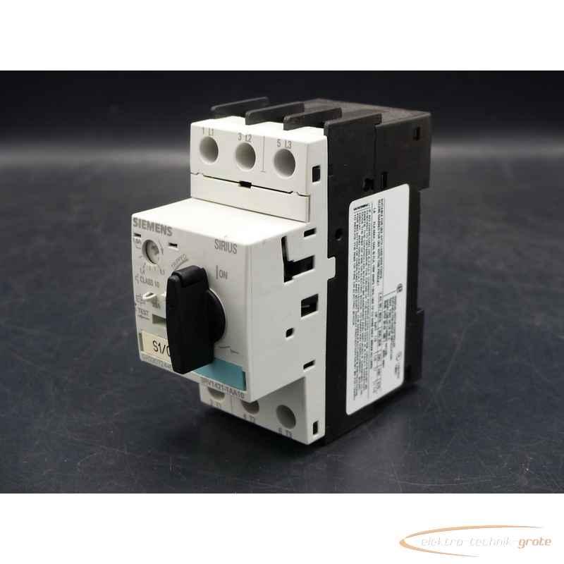 Siemens Siemens 3RV1421-1AA10 Leistungsschalter 33A фото на Industry-Pilot