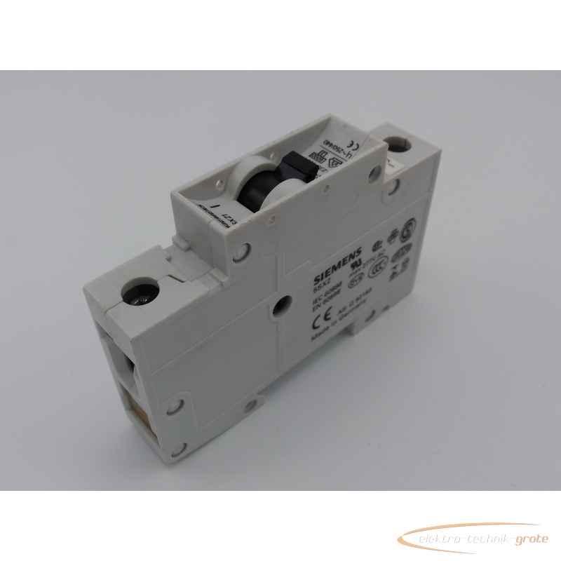 Автоматический выключатель Siemens 5SX21 C4  фото на Industry-Pilot
