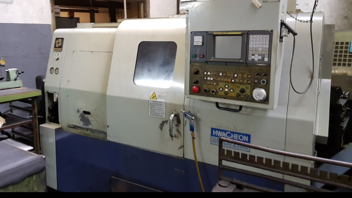 CNC Turning Machine HWACHEON Hi-eco 21 HS фото на Industry-Pilot