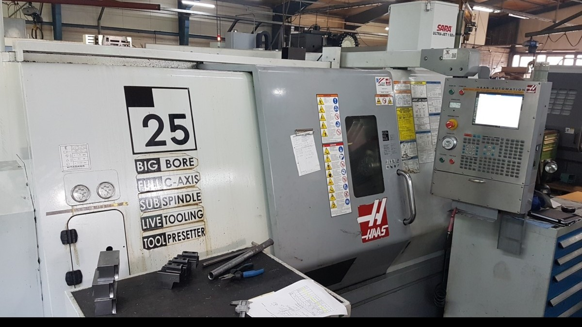 CNC Turning Machine - Inclined Bed Type HAAS TL 25 BHE photo on Industry-Pilot