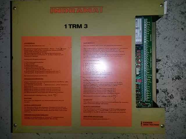 Indramat 1TRM3 3-Puls-Thyristor-Regler фото на Industry-Pilot