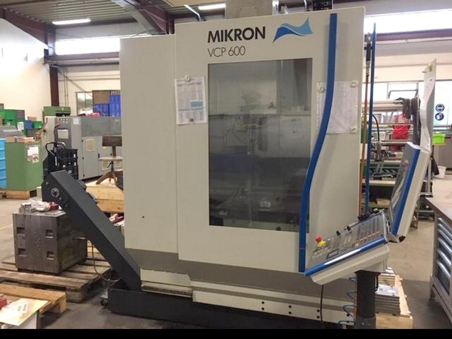 Обрабатывающий центр - вертикальный MIKRON VCP 600 2002 Heidenhain фото на Industry-Pilot