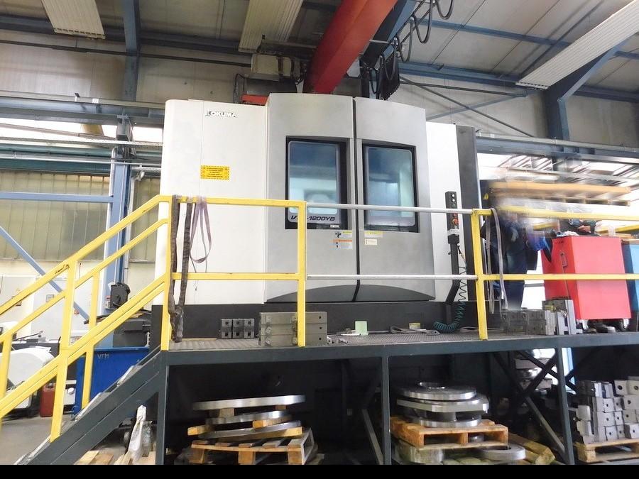 Vertical Turning Machine OKUMA VTM 1200 YB photo on Industry-Pilot