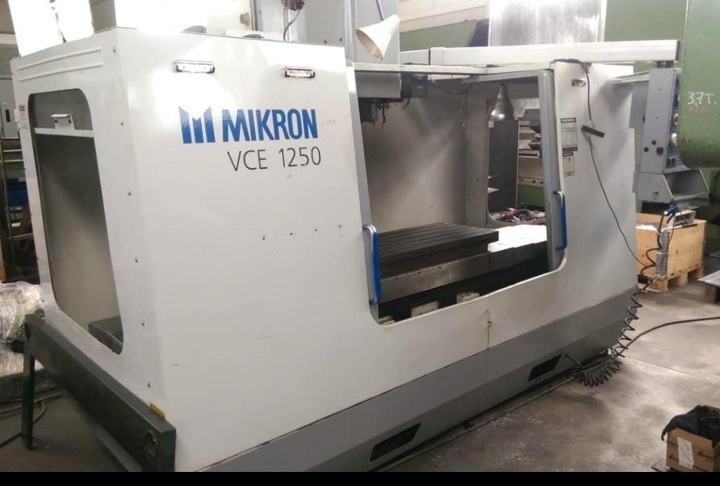 Machining Center - Vertical MIKRON-HAAS VCE 1250 фото на Industry-Pilot