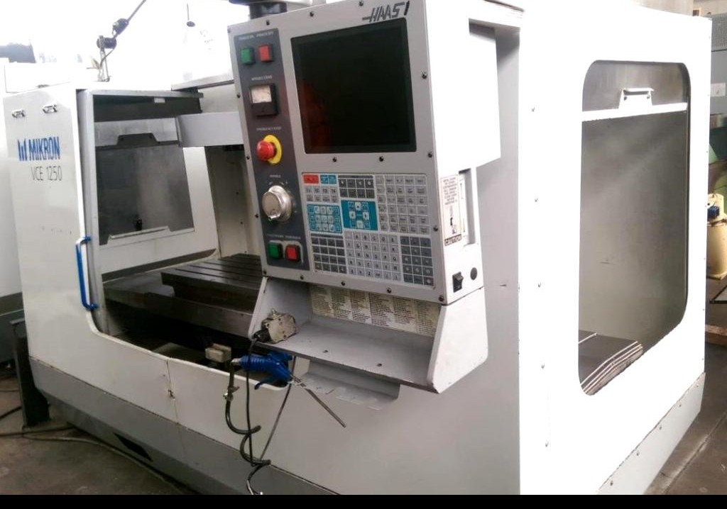 Machining Center - Vertical MIKRON-HAAS VCE 1250 photo on Industry-Pilot