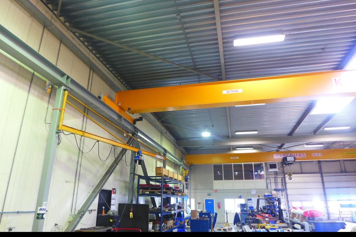 Мостовой кран NECO Staalbouw HE280 A + HE200A фото на Industry-Pilot
