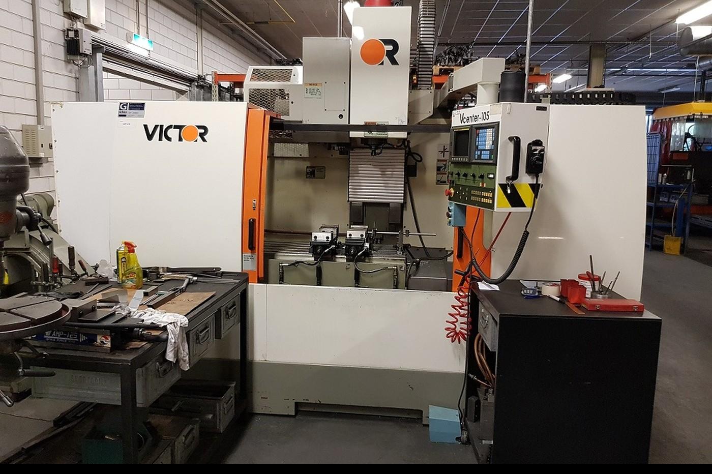 Обрабатывающий центр - вертикальный Victor Taiwan VCenter 105 фото на Industry-Pilot