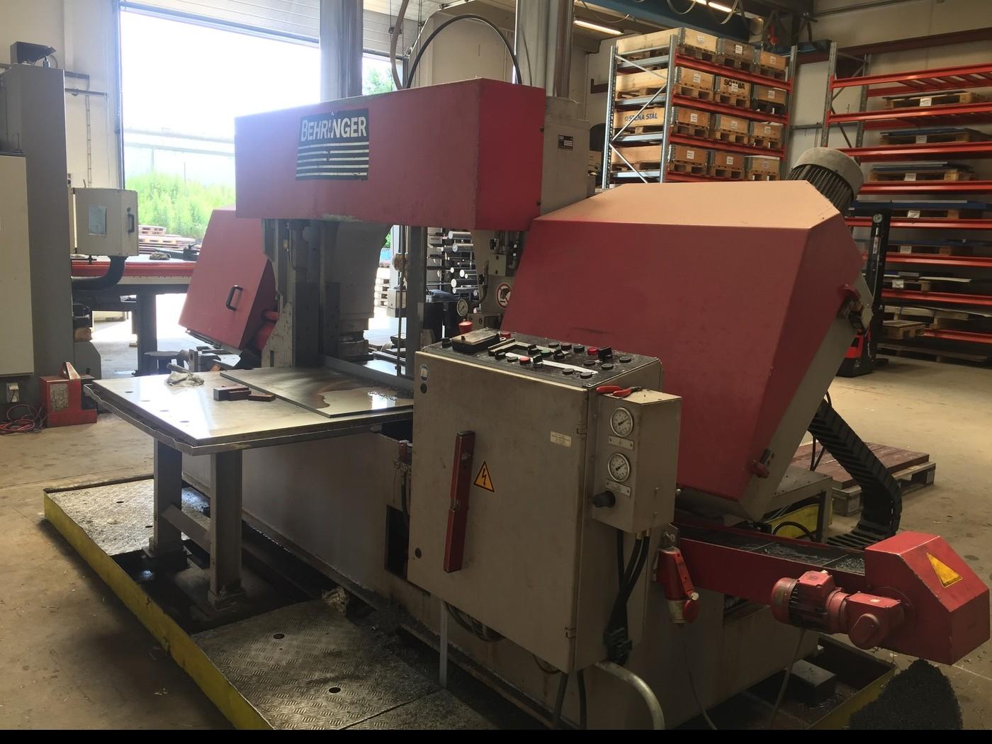 Ленточнопильный станок по металлу Behringer HBP 650 - 1050 фото на Industry-Pilot
