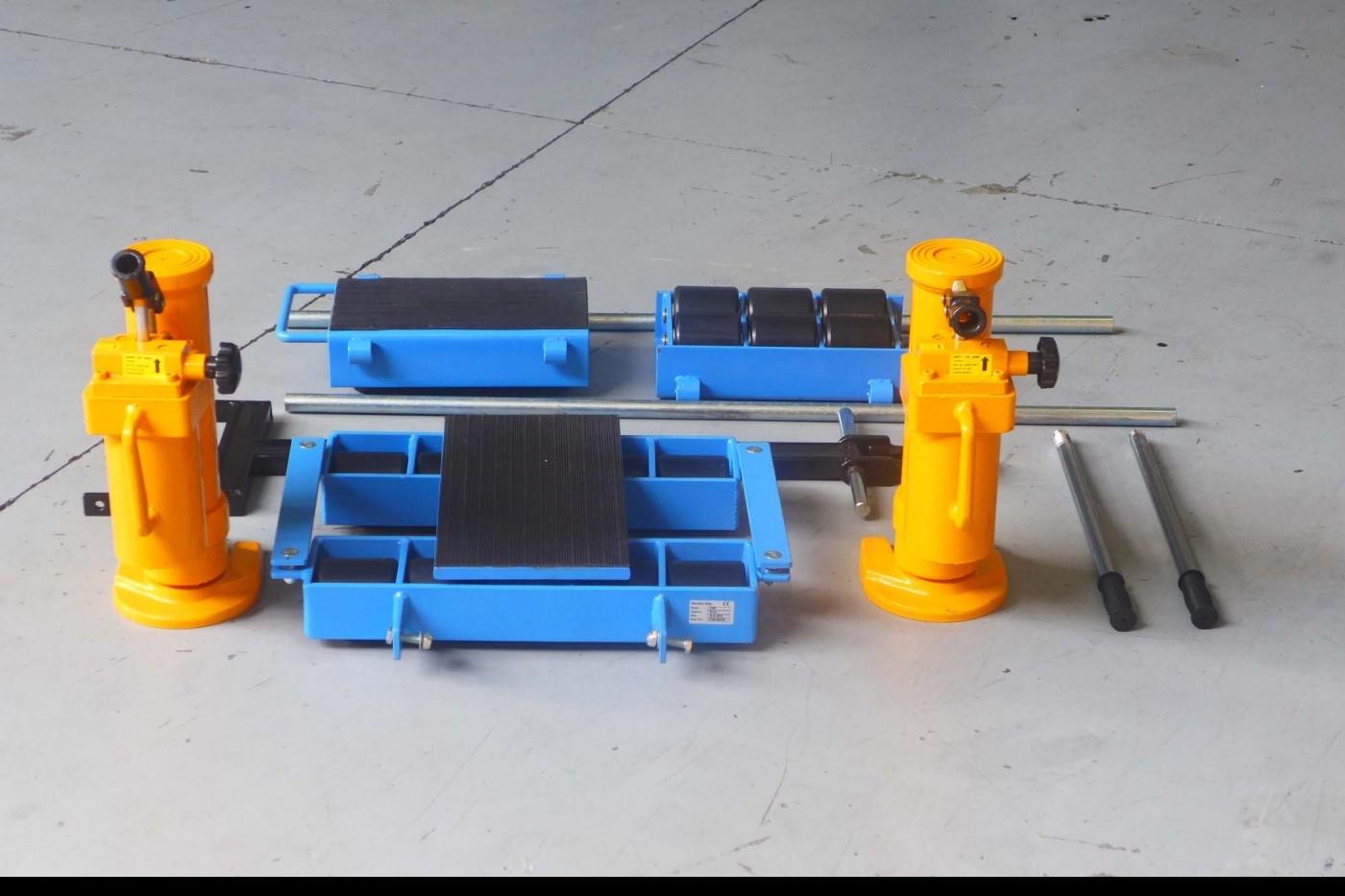 Heavy Lift Transport Skates ST + CM  фото на Industry-Pilot
