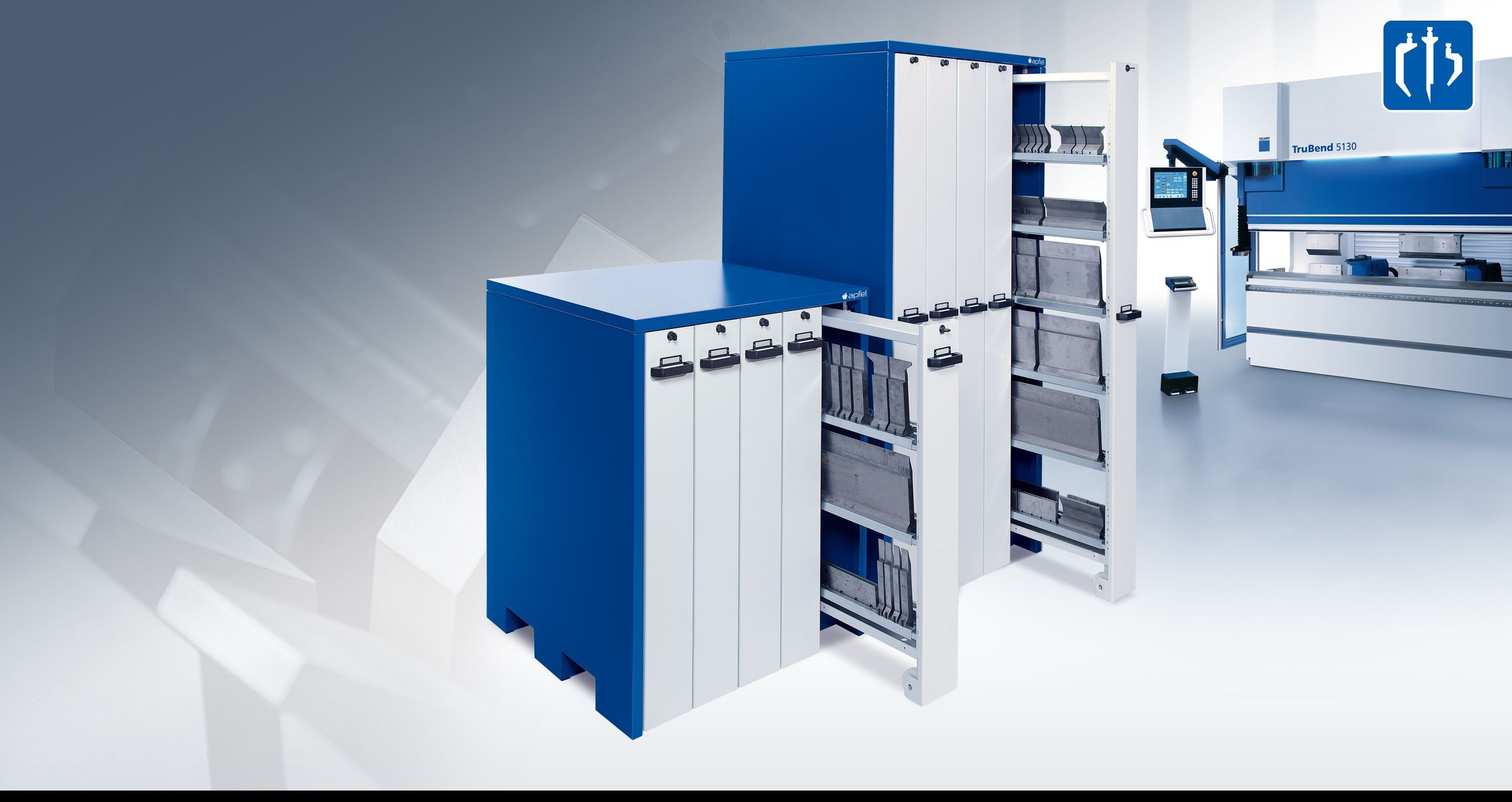 Cabinets for bending tools Apfel WKS 001 Set A photo on Industry-Pilot