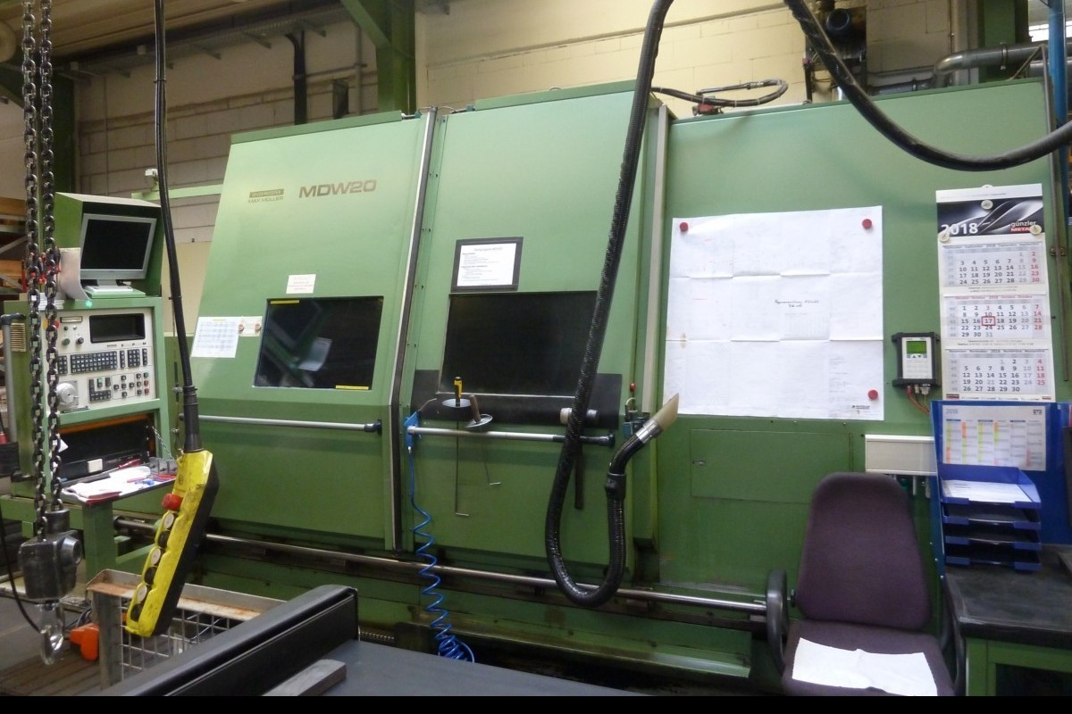 CNC Turning and Milling Machine MAX MÜLLER MDW 20 M photo on Industry-Pilot