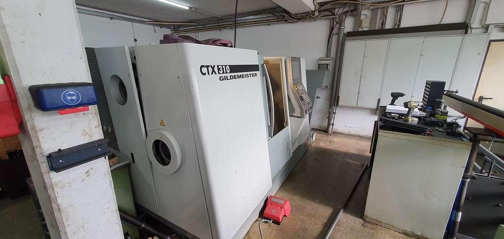 Токарный станок с ЧПУ DMG CTX 310 V3 фото на Industry-Pilot